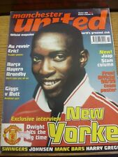 Oct-1998 Manchester United: Official Magazine Vol.06 No.10 - Dwight Yorke Cover