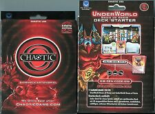 DECK STARTER CHAOTIC USA UNDERWORLD DAWN OF PERIN (German Deutch) Sealed New