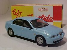 4 INCH Alfa Romeo 156 1997 Solido 1/43 Diecast Mint in Numbered Box