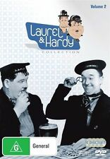 *New & Sealed*  Laurel And Hardy: Collection 2 (DVD, 2009, 4-Disc Set) Region 4