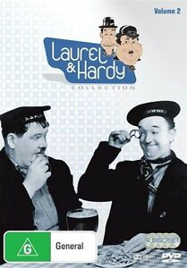 Laurel And Hardy : Collection 2 DVD 4 Disc Set New Sealed Region 4