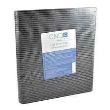 CND Nail File Hot Shot File -100/180 Grit x 50 Pcs