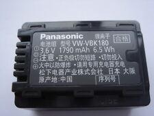 Batterie D'ORIGINE PANASONIC VW-VBK180 GENUINE AKKU ACCU HDC-TM55 SDR-T50
