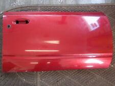 00-02 Saturn S-Series SL SW Front Passenger Door Panel WA9554 Red Met.