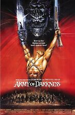 """Army Of Darkness Silk Fabric Movie Poster 15.7""""x24"""" Bruce Campbell Evil Dead"""