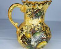 Mason's Patent Iron Stone China, Pitcher/ Vase, England, RARE