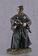 bemalt Zinnfigur. Samurai des Kriegerstandes im vorindustriellen Japan. Sm-35k