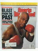 Sports Illustrated Magazine Back Issue George Foreman July 17 1989