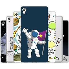 Dessana Astronaut TPU Silicone Protective Case Pouch Cover For sony