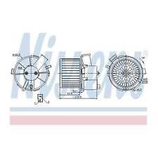 Fits Peugeot 307 2.0 HDi 90 Genuine Nissens Interior Heater Blower Motor Fan