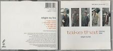 Take That (Lulu) - Relight My Fire - Scarce UK 9 track 2x picture CD set