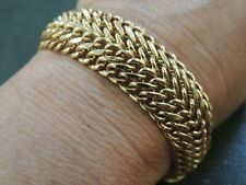 Bracelet en or jaune 18 carats