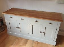 Painted Sideboard unit - 2 large drawers over 4 doors