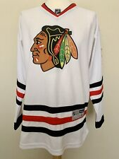 Reebok Chicago Blackhawks Corey Crawford hockey shirt jersey maillot camiseta