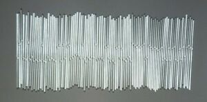 """Vintage Replacement 12"""" Glass Rods for Chandelier Tube Swizzle Stick"""