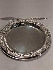 1847 Rogers Bros Esperanto Bread& Butter Set Silverplate International Silver Co