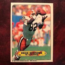 1983 Topps Sticker Set OZZIE NEWSOME #23 BROWNS - NM/MINT+ *HIGH GRADE*