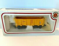 Bachmann HO Scale Electric Ore Train Car 43-1075-G5 DM & IR Original Box Yellow