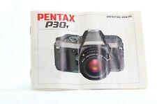 Pentax P30T Film SLR Camera User Manual / Book / FREE UK DELIVERY - CJ M80