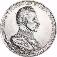 Preußen 3 Mark 1913 Regierungsjubiläum 1913 sehr schöne Jäger 112 in Münzkapsel
