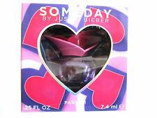 Someday for Women by Justin Bieber Parfum Miniature Splash 0.25 oz - New in Box