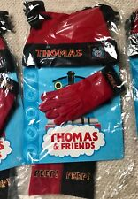 THOMAS THE TANK ENGINE & FRIENDS HAT GLOVES & SCARF SET AGED 4 RED