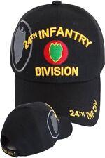 US ARMY 24th Infantry Division Ball Cap WWII Korea Desert Storm Hawaiian Vet Hat
