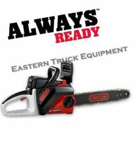 "Oregon Chainsaw Chain Saw CS250 Battery 14"" Bar Power Sharp Tool W/ Battery"