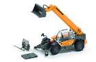 ROS 00197 1:50 SCALE LIEBHERR 435-13 TELEHANDLER WITH ATTACHMENTS