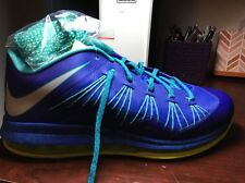 Mens Nike Air Max Lebron X Low Basketball Shoes Size 12