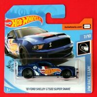 Hot Wheels 2019   ´10 FORD SHELBY GT500    ==HW RACE TEAM==  192/250 NEU&OVP