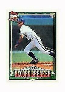 A8977- 1991 Topps Micro BB Carte # S 1-200 + Rookies -vous Pic- 10+ Sans US