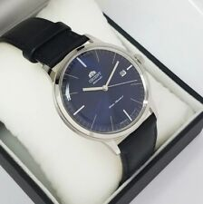 ORIENT Auto Bambino 2nd Generation FAC0000DD0 Blue dial Leather Strap New w/ Box