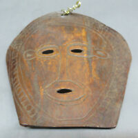 VINTAGE ASIAN TRIBAL ART HANDETCHED COLLECTIBLE  ANCESTOR MASK TIMOR INDONESIA