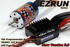 Hobbywing EZRUN 7800 kV 12 T Brushless Motor & 18 a ESC Speed Controller ca064