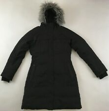 The North Face Arctic Parka goose down fill 550 hooded coat jacket black women M