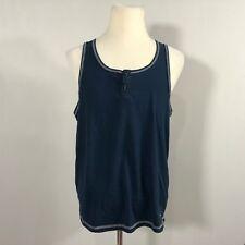 905a46fb395fc Original PENGUIN TANK TOP Men Size Large Sleeveless Top Blue Casual Shirt -  D25