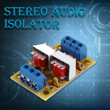 Stereo Audio Isolator Common Ground Anti-Jamming Signal Noise Sound Filter Modle