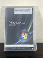 Microsoft Windows Vista Ultimate DVD ROM 32-bit 64-bit with Product Key & Others