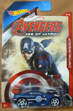 Hot Wheels CAPTAIN AMERICA POWER RAGE ~ Marvel Avengers Age of Ultron ~ 2015