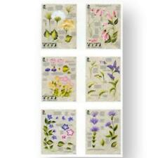Donna Dewberry One Stroke Paint Instruction Wildflowers 3 Piece Worksheet Pack