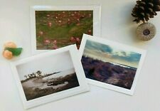 3 Variety Blank Greeting Cards w/ Env, Original Photographs 💜 Great Gifts!