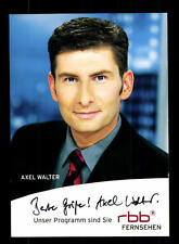 Axel Walter Autogrammkarte Original Signiert # BC 93073