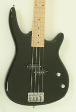 FULL SIZE Black Electric Bass Guitar with P Pickups & High Gloss Finish