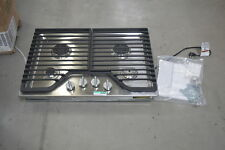 "Whirlpool Wcg51Us0Ds 30"" Stainless Gas 4 Burner Cooktop Nob #28129 Hl"