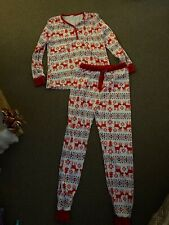 Bnwot Women's Christmas Pyjamas Size M/L  12 *matching Mens And Baby Available