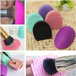 Make Up Brush Cleaner Makeup Cleaning Mat Dryer Silicone Washing Foundation UK
