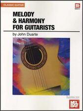 Melody & Harmony per Chitarristi Chitarra Musica LIBRO John Duarte spedizione lo stesso giorno