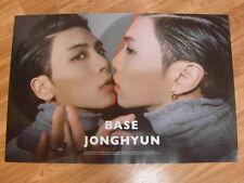 JONGHYUN (SHINee) - BASE (TYPE B) [ORIGINAL POSTER] *NEW* K-POP