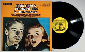 The Blue Dahlia (1982) Vinyl LP • Alan Ladd, Veronica Lake, Radio Crime Drama